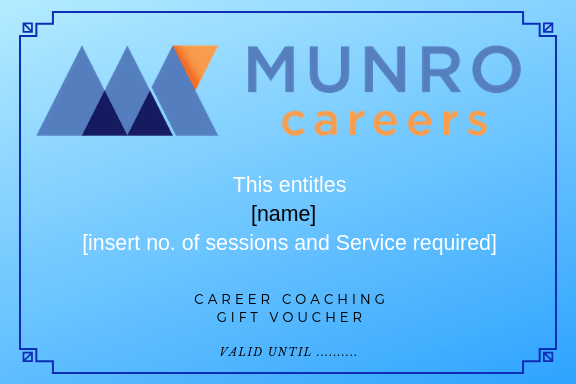 career coaching gift voucher